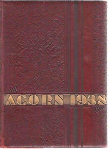 1938 Cedar Rapids Iowa COE College Yearbook-The Acorn