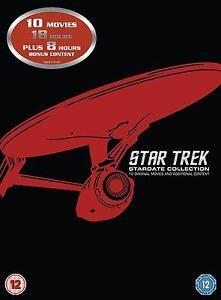 Star Trek: Films 1-10 Remastered Special Edition Dvd Box Set New