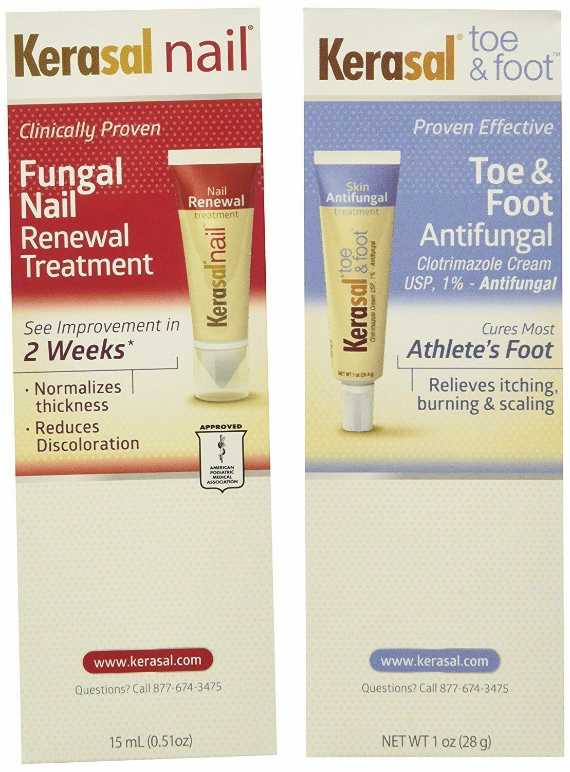 Kerasal complete care 2 in 1 nail toe & foot Anti - Fungal treatment ...