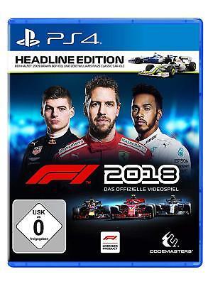 F1 2018 Headline Edition (Formel Eins 18)        PS4         !!!!! NEU+OVP !!!!! (Ps4 Formel Eins)