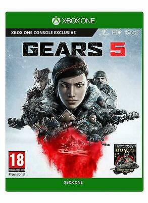 Gears 5 Xbox One NEW SEALED DISPATCHING TODAY ALL BY 2 P.M.