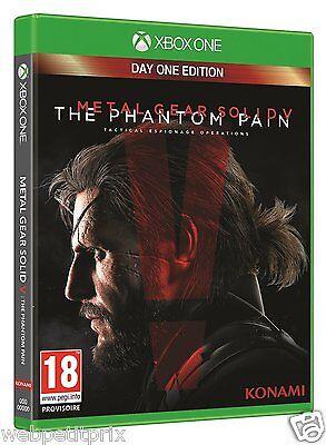 Metal Gear Solid V : The Phantom Pain + Boitier Métal Steelbook  XBOX ONE  Neuf