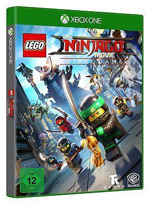 LEGO NINJAGO Film Jeu Vidéo XBOX ONE xb-one NEUF + EMBALLAGE ORIGINAL