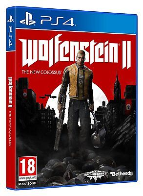 Jeux Video Console PS4 Playstation / Wolfenstein 2 : The New Colossus / NEUF