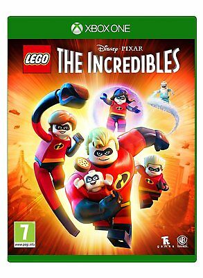 Lego The Incredibles XBox One Game NEW