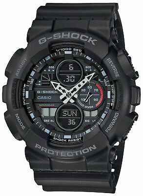 NEW Casio G-Shock Analog-Digital Black/Grey Men's Watch GA140-1A1