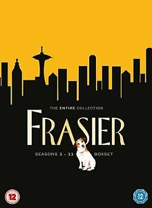 FRASIER - THE COMPLETE SERIES SEASONS 1-11  DVD BOX SET 44 DISCS