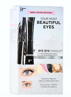 - New It Cosmetics Your Most Beautiful Eyes Duo Lot Set Mascara & Melting Cleanser