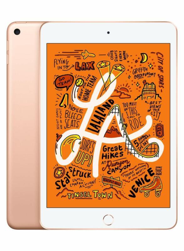 Apple iPad mini (Latest Model) with Wi-Fi 64GB Gold MUQY2LL/A