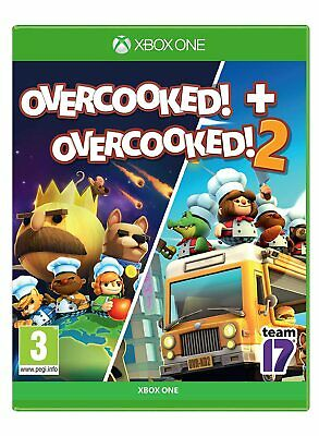 Overcooked 1 and 2 Xbox One Brand New Factory Sealed