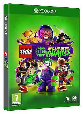 LEGO DC Super Villains Supervillains Xbox One Kids Game - New & Sealed