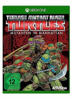 Xbox One Spiel Teenage Mutant Ninja Turtles: Mutanten in Manhattan NEUWARE