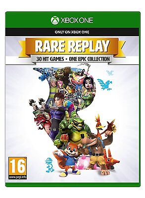 Rare Replay Xbox One 30 Retro Hit Video Games + One Epic Collection New Sealed