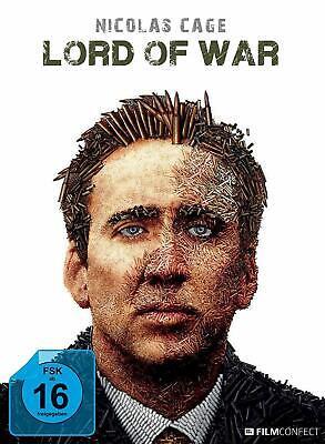 LORD OF WAR (BLU-RAY) (MEDIABOOK)   BLU-RAY NICOLAS CAGE  JARED LETO NEW