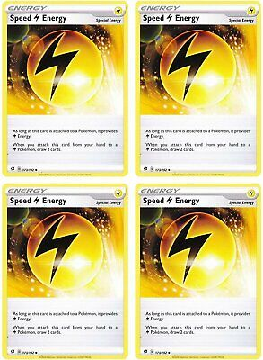 Speed L Energy Pokemon Rebel Clash Sword /& Shield NM//M Pack Fresh 173//192