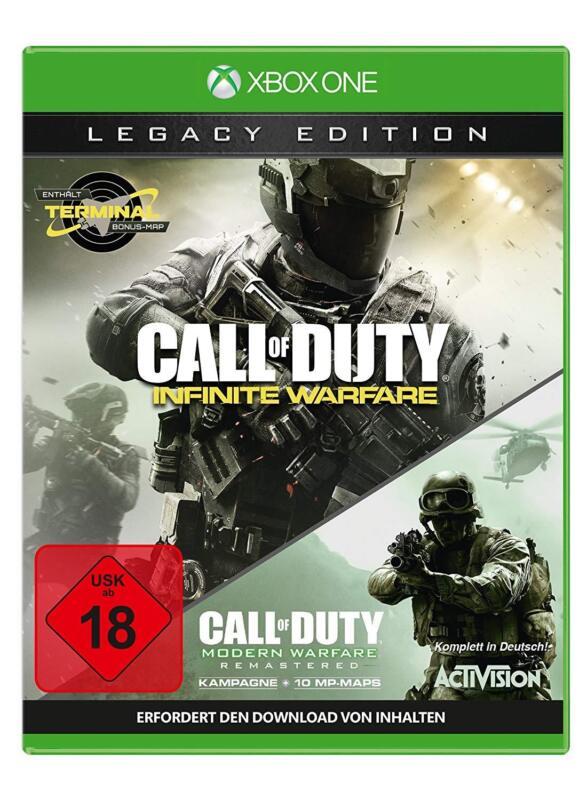 Xbox One Spiel Call of Duty: Infinite Warfare - Legacy Edition NEUWARE