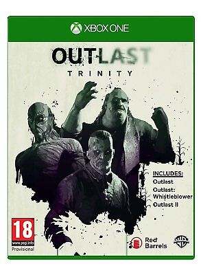 Outlast Trinity Xbox One - Brand New GAME - SEALED -  UK SELLER X 1 S