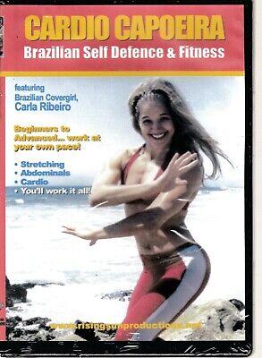 Cardio Capoeira - Brazilian Self Defense & Fitness (DVD) Carla Ribeiro Seale AOB