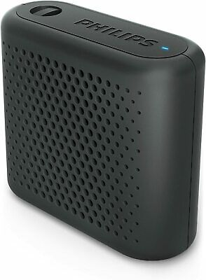 Philips Audio BT55B/00 - Mini Altavoz Bluetooth Inalámbrico Portatil,Negro