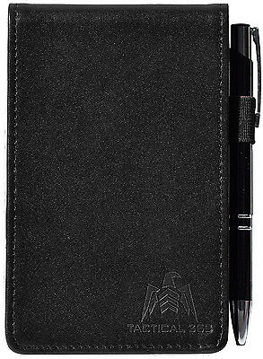 Tactical 365 Operation First Response Deluxe Leather Memo Pad Holder