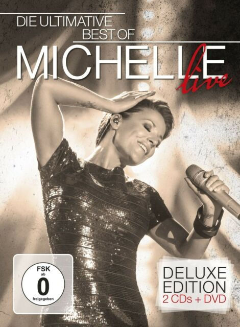 MICHELLE - DIE ULTIMATIVE BEST OF - LIVE (DELUXE EDT.) 2 CD + DVD NEU