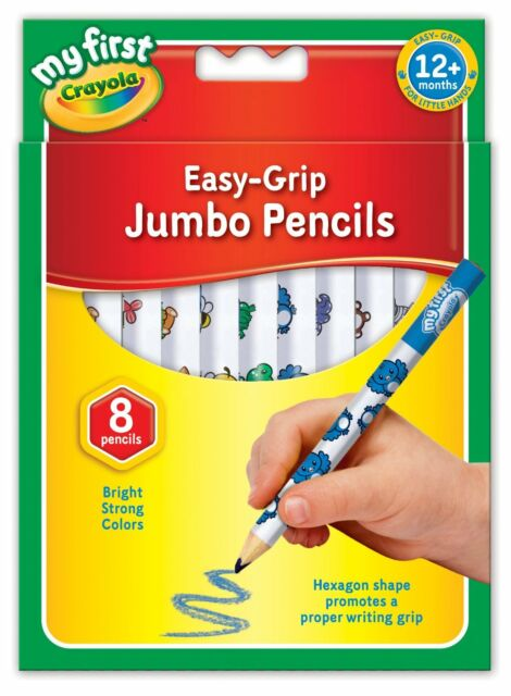 My First Crayola Jumbo Pencils 8 Pack