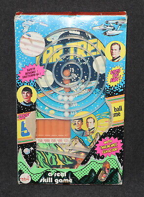 Star Trek AHI 1976 Pin Ball Game Krik & Spock Boxed