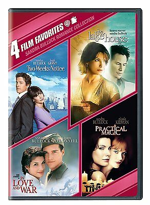 Sandra Bullock Romance  4 Film Favorites  Dvd  2012  2 Disc Set New Free Shippin