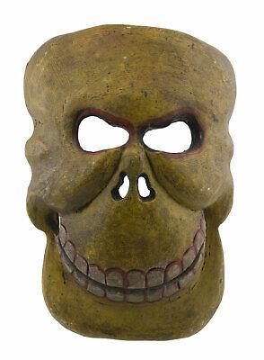 Mask Citipati Tête de Death 25cm Tantric Himalayan Shaman Nepal 5632 W5