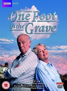 ONE FOOT IN THE GRAVE Complete Series 1-6  SEALED/NEW Specials 5014503211523