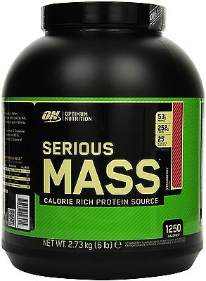 (Optimum Nutrition Protein Serious Mass Gainer Weight Whey Creatine Strawberry)