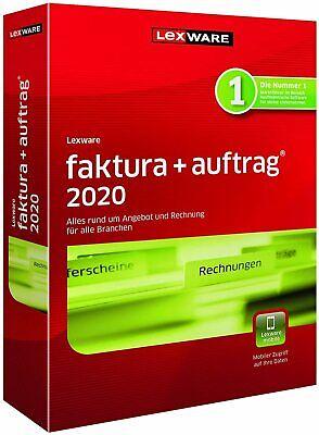 Lexware faktura+auftrag 2020 Jahresversion (365-Tage) - [PC]