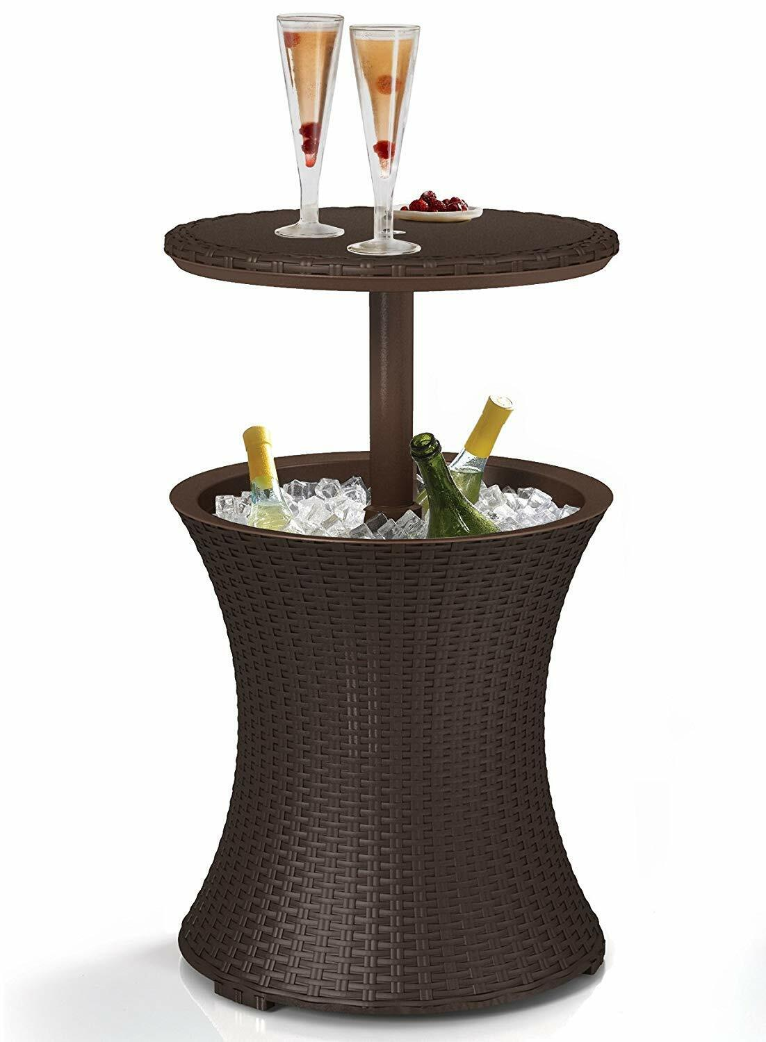 Cool Bar Table Patio Set Outdoor Furniture Bistro Piece Dini