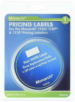 Pricemarker Labels Model 11051110 Mnk925036 Monarch Avery