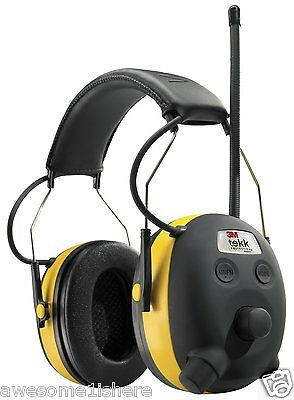 Noise Reducing Headphones Ear Pad Protection Hearing 3m Tekk Radio Loud Sounds