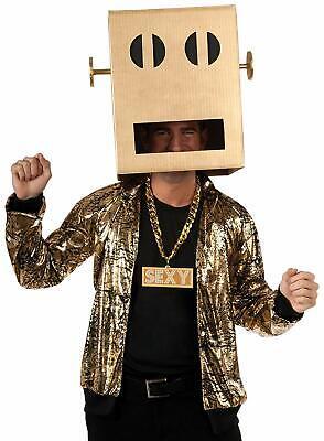 Lmfao Shuffle Bot Halloween Costume (XLARGE -Rubie's Costume Lmfao Robot Pete Shuffle Bot Party Rock Anthem)