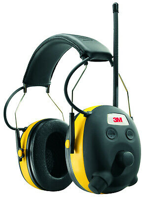 3m Worktunes Hearing Protector With Am Fm Digital Radio Comfortable Ear Cushions