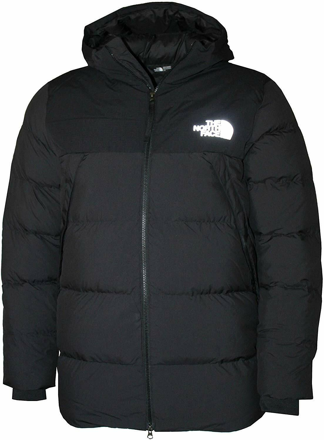 The North Face Men's UX Down Hooded Puffer Jacket RTO, TNF ...