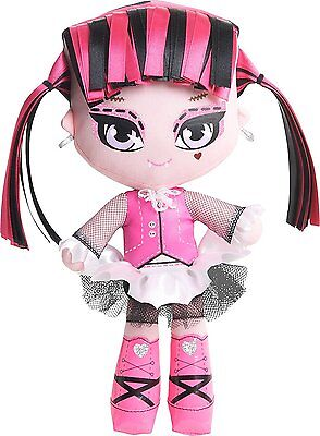 Monster High Draculaura Freaky and Fabulous Soft/Plush Doll New in Box!! Toys