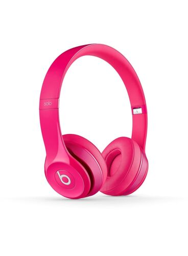 $119.99 - Beats by Dr. Dre Solo2 Wired On-Ear Headphones - Pink