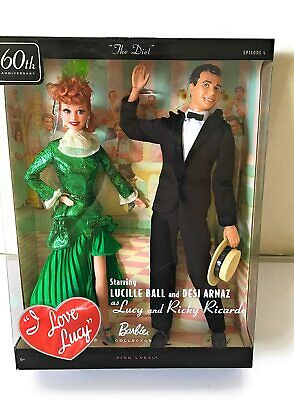 "Barbie Collector ""I Love Lucy"" Lucy and Ricky Doll Giftset  MINT"