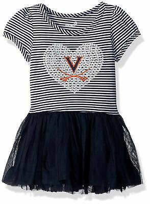Tutu Dress For Toddlers (NCAA Girls Toddlers Virginia Cavaliers Celebration Sequin Tutu Dress,)