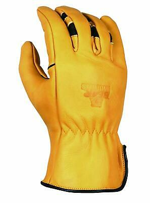 Bear Knuckles Heavy Duty Double Wedge Leather Work Gloves Hd351