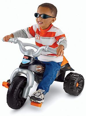Toys For Kids Trike Bike Bicycle Harley-Davidson Motorcycles Styling Pedal-Power