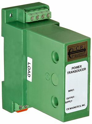 Cr Magnetics Cr6240-500-20 Ac Power Transducer With 3-phase 12 Vdc