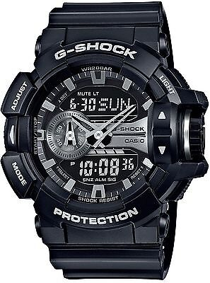 Brand New Casio G Shock GA400GB-1A Rotary Black Ana Digi Men's Watch
