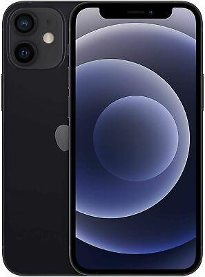 Apple iPhone 12 MINI - 64GB - SCHWARZ - NEU & OVP - SIMLOCKFREI WOW
