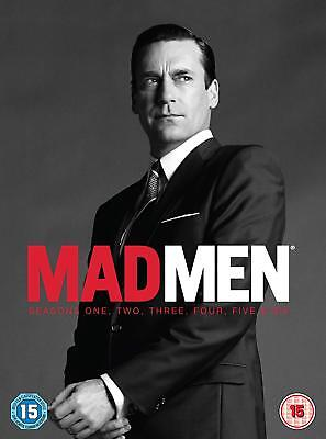 MAD MEN COMPLETE SERIES 1-6 DVD BOX SET SEASONS 1 2 3 4 5 6 *NEW AND SEALED* ()