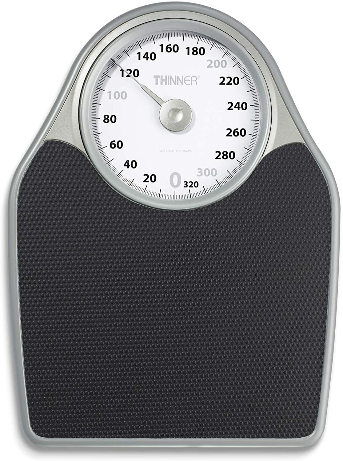 Thinner Extra-Large Dial Analog Precision Bathroom Scale, An