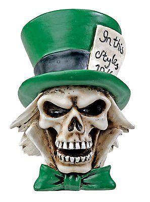 THE HATTER Skull Figurine, Mad Hatter Day 10/6, 3